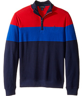 Polo Ralph Lauren Kids - Yarn-Dyed Long Sleeve 1/2 Zip (Big Kids)
