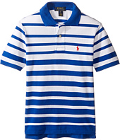 Polo Ralph Lauren Kids - Yarn-Dyed Mesh Short Sleeve Shirt (Big Kids)