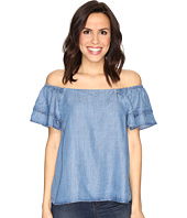 CATHERINE Catherine Malandrino - Tencel Off Shoulder Ruffle Sleeve Top
