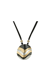 Robert Lee Morris - Tri-Tone Long Pendant Necklace