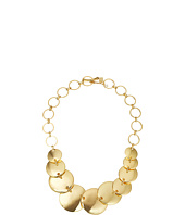 Robert Lee Morris - Gold Disc Frontal Necklace