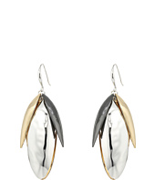 Robert Lee Morris - Tri-Tone Shaky Drop Earrings