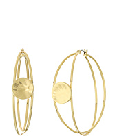 Robert Lee Morris - Gold Overlap Hoop Earrings
