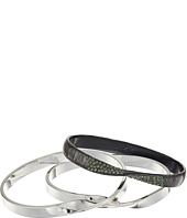 Robert Lee Morris - Grey & Silver Bangle Set Bracelet