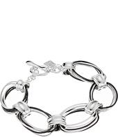 Robert Lee Morris - Silver & Hematite Link Bracelet