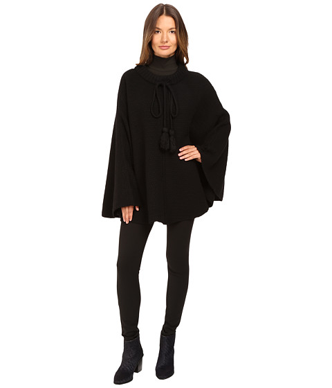 ATM Anthony Thomas Melillo Poncho with Long Tassel Cords
