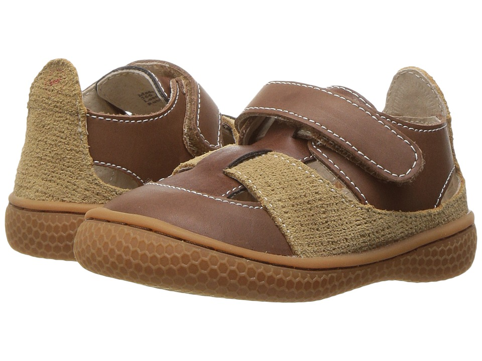 Livie + Luca Captain (Toddler/Little Kid) (Brown) Boy's Shoes
