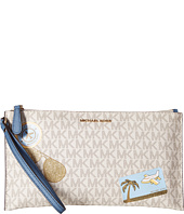 MICHAEL Michael Kors - Illustrations Fly Away Large Zip Clutch