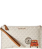 MICHAEL Michael Kors - Illustrations Drve Away Large Zip Clutch