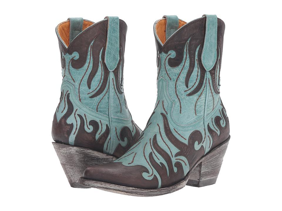 Old Gringo Bennu (Aqua) Cowboy Boots