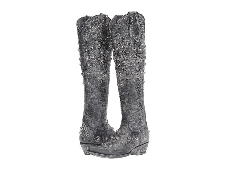 Old Gringo Gigna (Black) Cowboy Boots