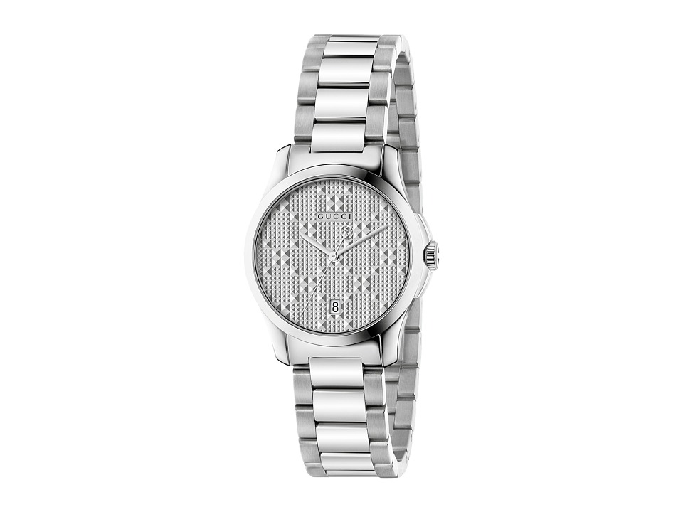 Gucci G-Timeless Small 27mm - YA126551 (Silver) Watches