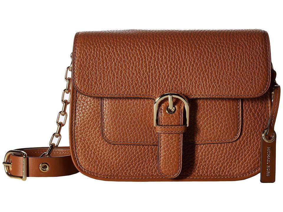 MICHAEL Michael Kors Cooper Medium Messenger (Luggage) Messenger Bags