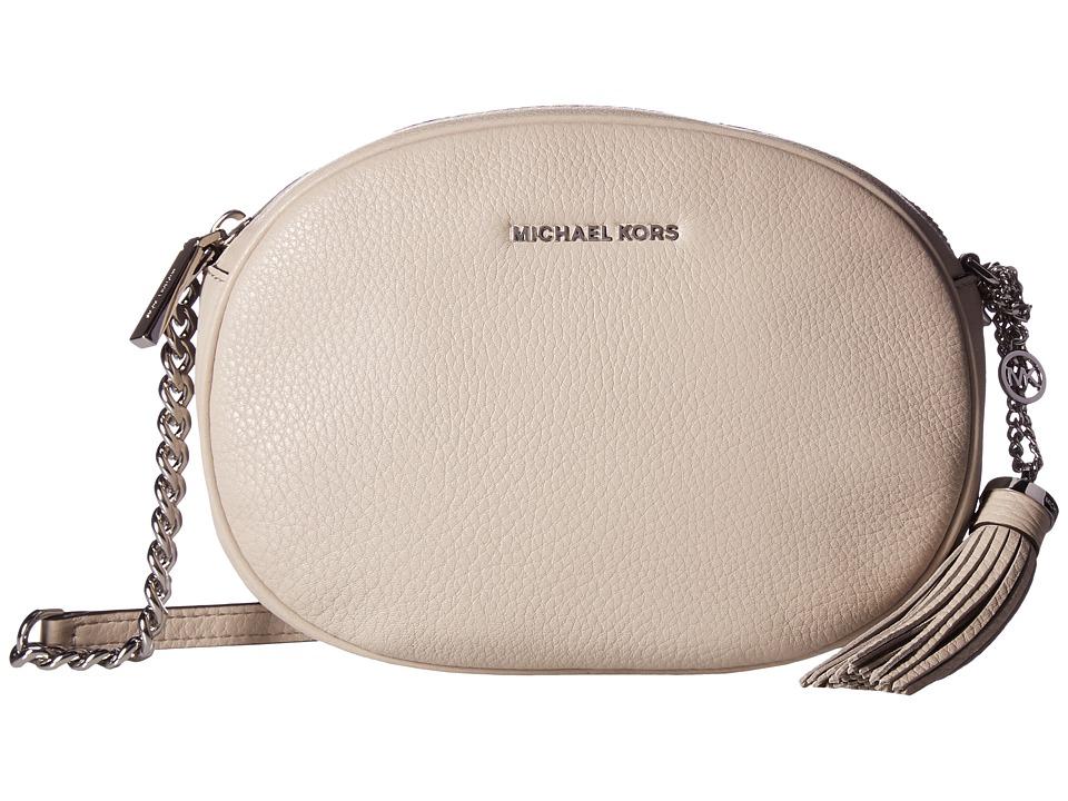 MICHAEL Michael Kors Ginny Medium Messenger (Cement) Messenger Bags