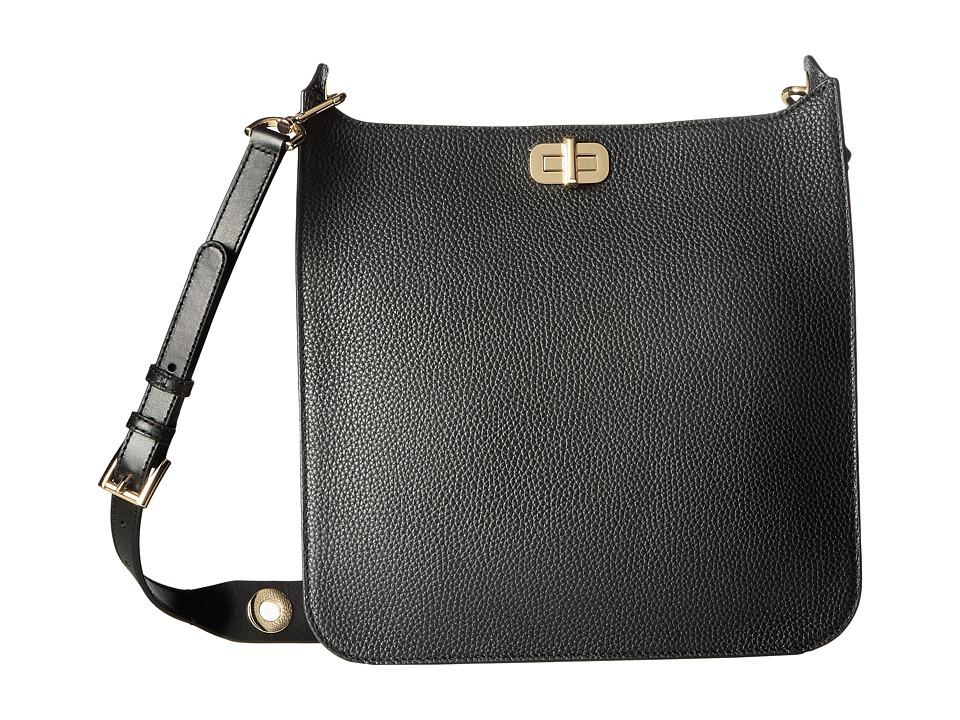 MICHAEL Michael Kors Sullivan Large North/South Messenger (Black) Messenger Bags