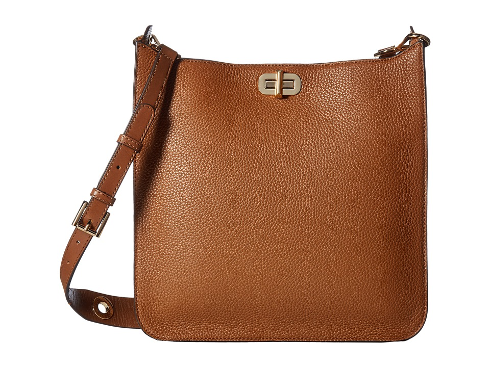 MICHAEL Michael Kors Sullivan Large North/South Messenger (Luggage) Messenger Bags