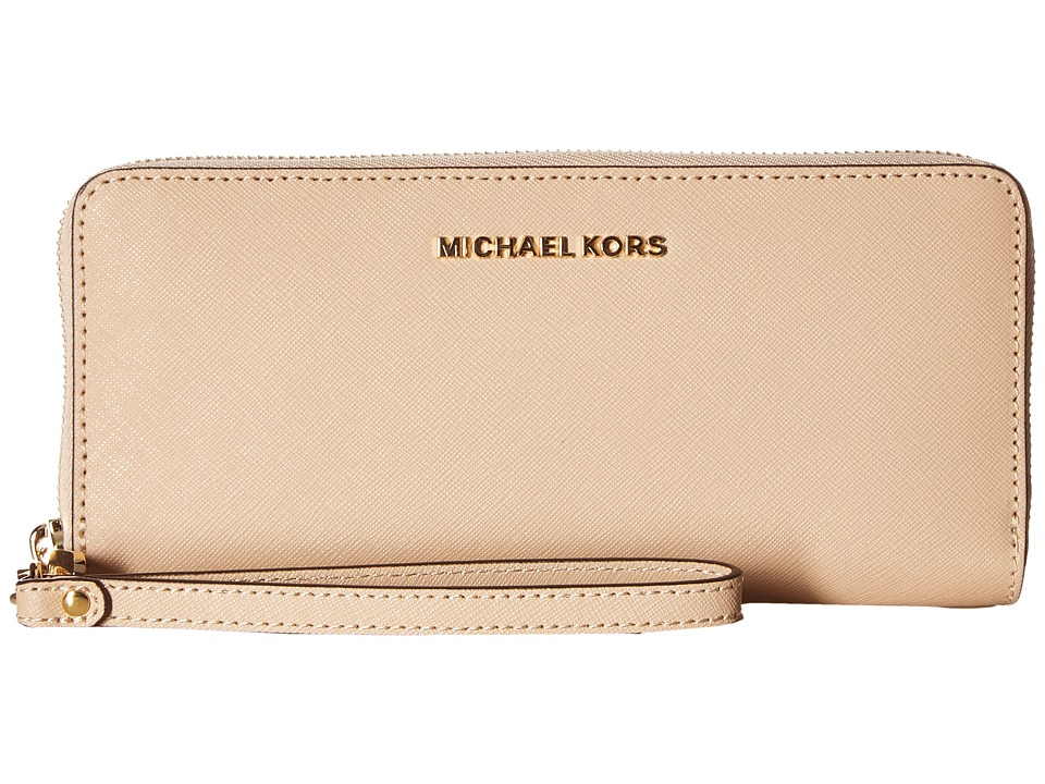 MICHAEL Michael Kors Jet Set Travel Travel Continental (Oyster) Clutch Handbags