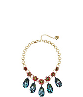 Betsey Johnson - Multi Teardrop Frontal Necklace