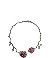 Betsey Johnson - Rose Vine Hard Collar Necklace