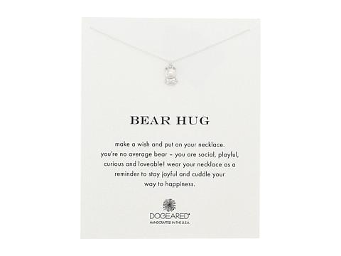 Dogeared Bear Hug Reminder Necklace - Sterling Silver