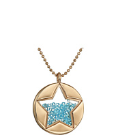 Betsey Johnson - Blue Shaky Star Pendant Necklace