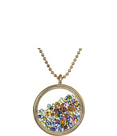 Betsey Johnson - Multi Shaky Pendant Necklace