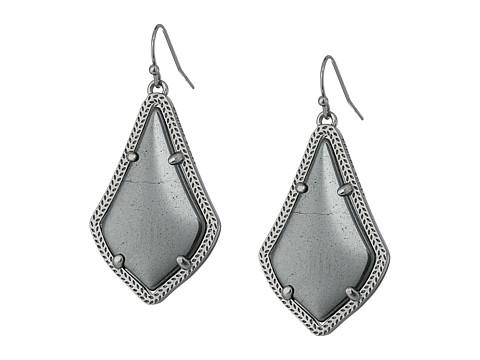 Kendra Scott Alex Earring - Hematite/Gray Hematite