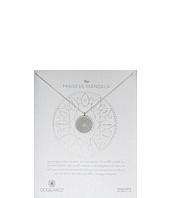 Dogeared - Mindful Mandala Center Square Necklace