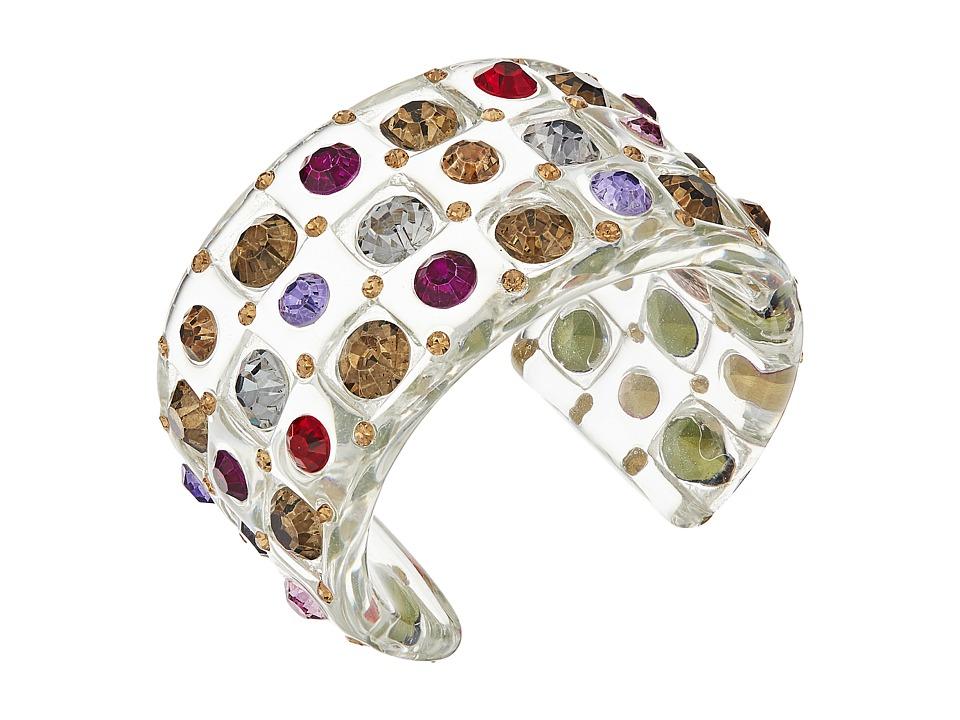 Betsey Johnson - Multi Lucite Cuff Bracelet (Multi) Bracelet