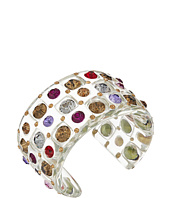 Betsey Johnson - Multi Lucite Cuff Bracelet
