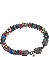 Betsey Johnson - Multi Hematite Heart Magnet Bracelet