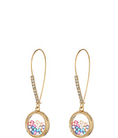 Betsey Johnson - Multi Shaky Shepherd's Hook Earrings
