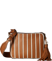 MICHAEL Michael Kors - Applique Stripe Canvas Brklyn Large Camera Bag