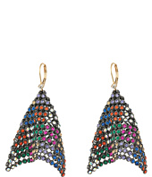 Betsey Johnson - Multi Mesh Linear Earrings
