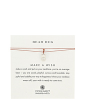 Dogeared - Bear Hug Make A Wish Thread Necklace