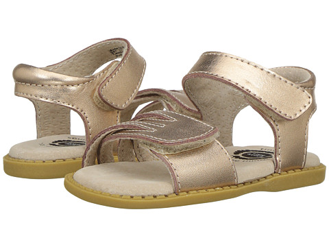 Livie & Luca Athena (Toddler/Little Kid) - Rose Gold Metallic
