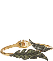 Betsey Johnson - Crystal/Gold Feather Bypass Bracelet