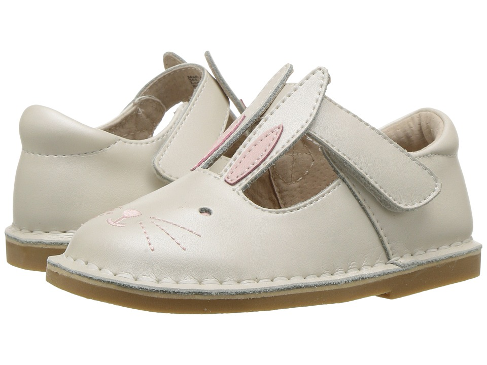 Livie + Luca Molly (Toddler/Little Kid) (White Pearl) Girl's Shoes