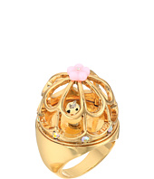 Betsey Johnson - Rose Gold Multi Bird Cage Ring