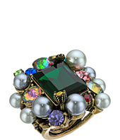 Betsey Johnson - Rose Hematite/Multi Cluster Ring