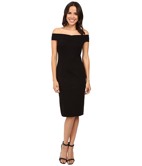 Three Dots Off the Shoulder Bandage Dress