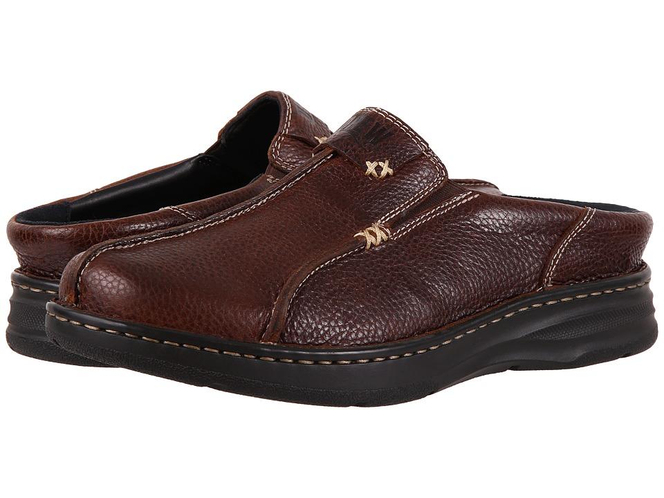Drew Jackson (Brown Tumbled) Men's Shoes