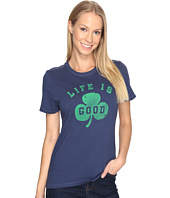 Life is good - Shamrock Crusher Tee