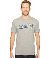 Life is Good - Grateful Dad Script Crusher Tee