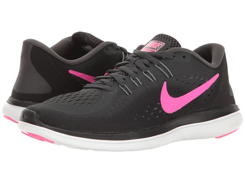 Nike Flex RN 2017 (Anthracite/Pink Blast/Black/Cool Grey) Women