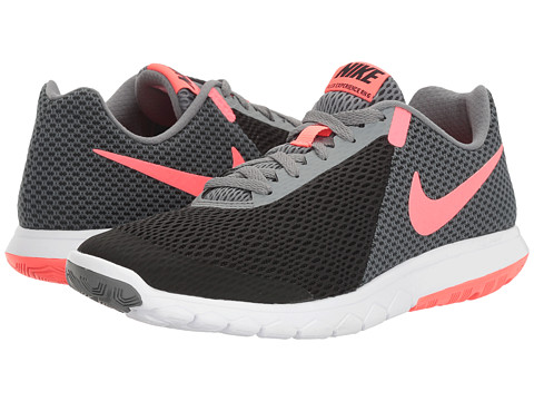 Nike Flex Experience RN 6 - Black/Hot Punch/Cool Grey/White