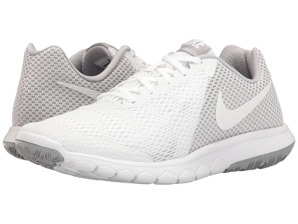Nike Flex Experience RN 6 (White/White/Wolf Grey) Women's...