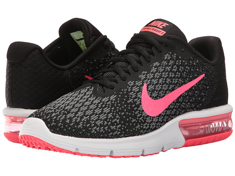 Nike Air Max Sequent 2 - Black/Racer Pink/Anthracite/Cool Grey