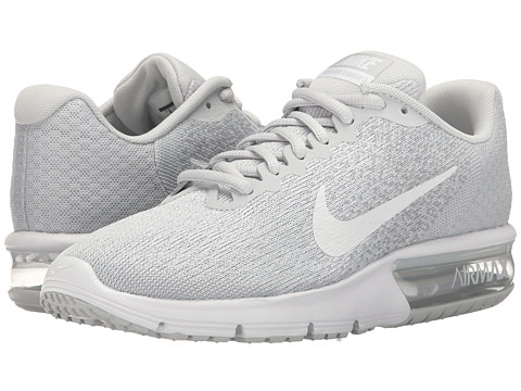 Nike Air Max Sequent 2 - Pure Platinum/White/Wolf Grey