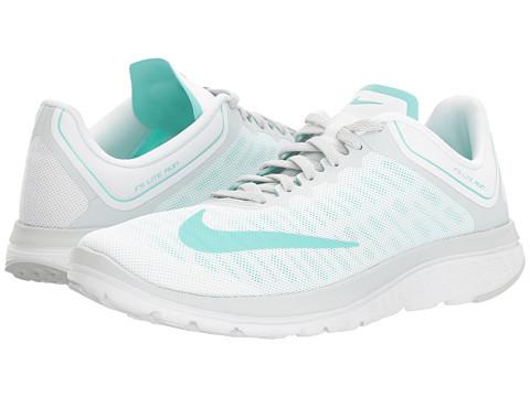Nike FS Lite Run 4 - White/Hyper Turquoise/Pure Platinum/White